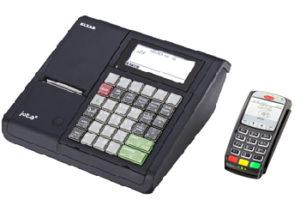 Kasa fiskalna Jota E z terminalem kart płatniczych
